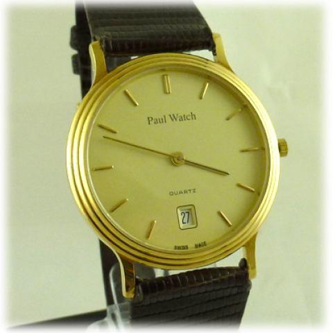 Orologio Paul Watch oro 18kt.