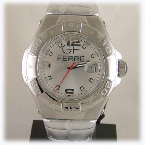 Orologio GF Ferrè pelle silver