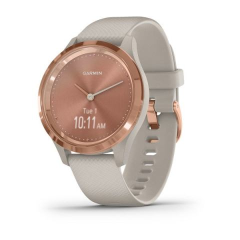 Garmin vivomove 3 light sand lunetta rose gold