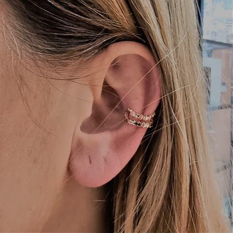 mono orecchino ear cuff stelline