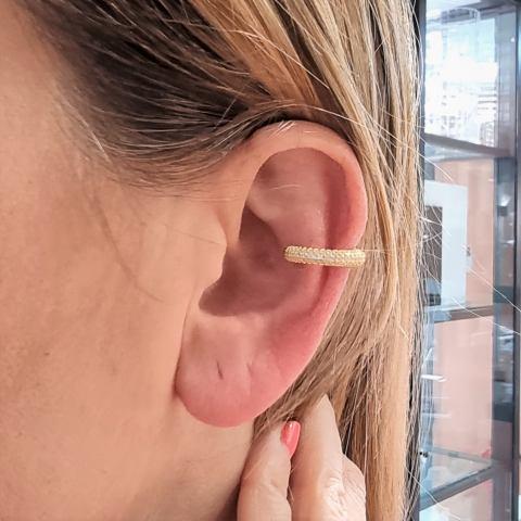 mono orecchino ear cuff argento 925